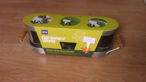 BBC Gardeners' World herb growing kit