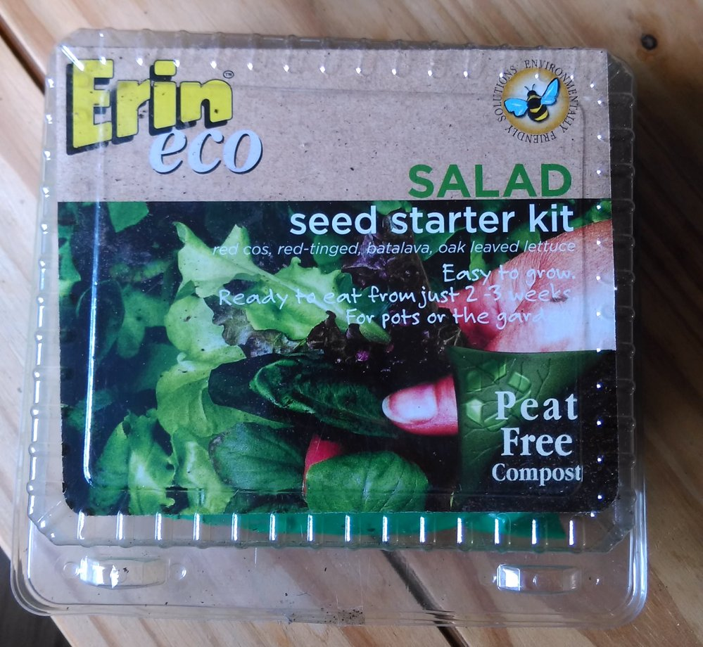 Erin Eco Salad seed starter kit