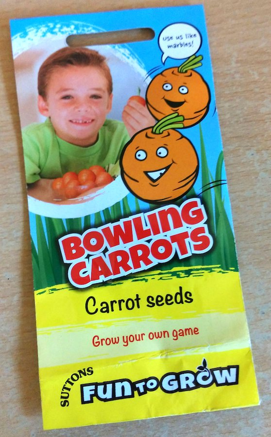 Suttons 'Bowling ball' Rondo carrots